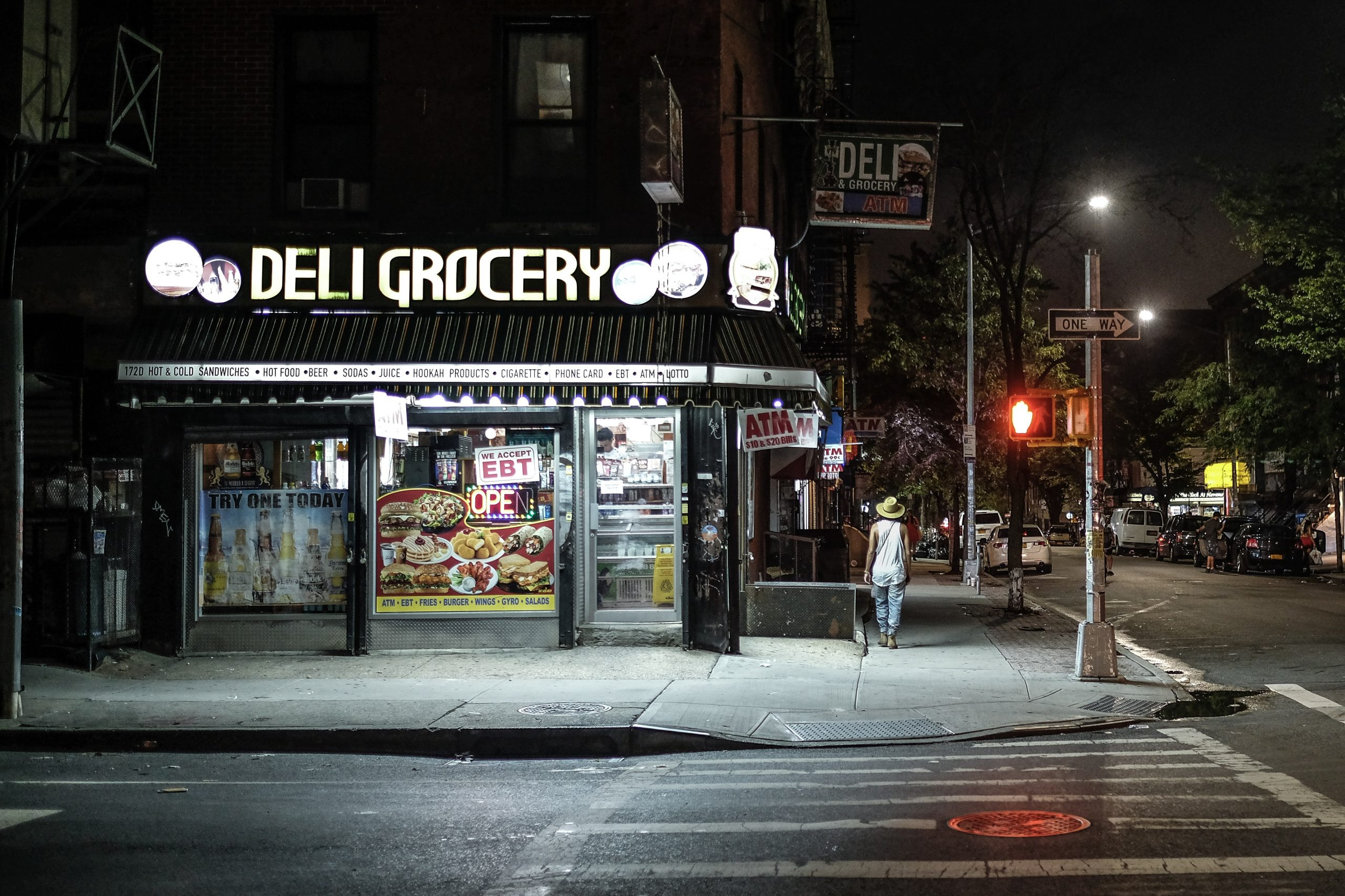 Local NY Deli/Grocery/Corner Store Photographed by Clement Falize sourced off of Unsplash